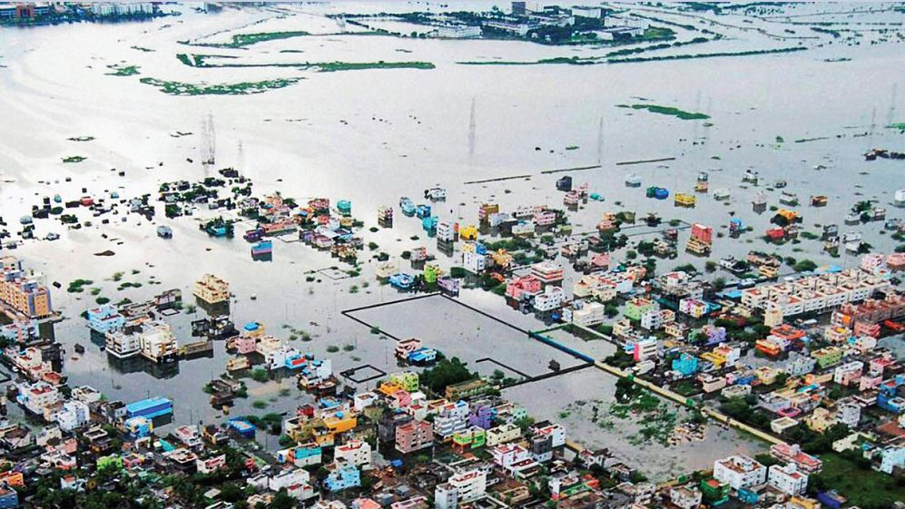 Flood in Chennai