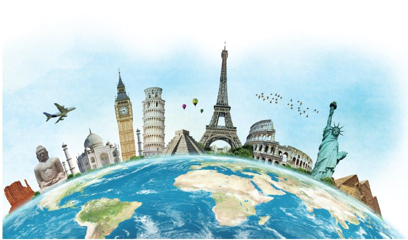 Tourist Attractions across Globe