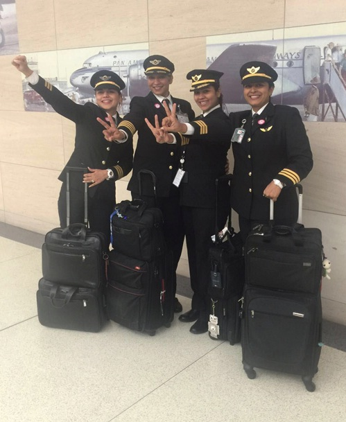 Air India's All-Woman Flight Crew