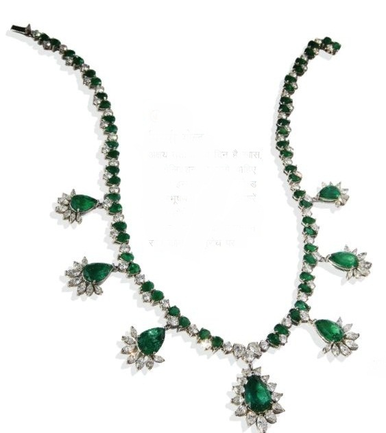 Mirari Emerald Necklace