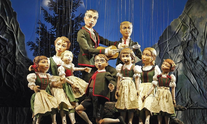 The Salzburg Marionette Theatre was established in 1913 and is one of the oldest continuing marionette theatres in the world