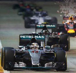Formula 1 Singapore Grand Prix, the first night F1 race.