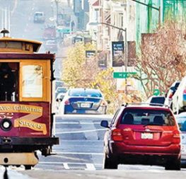 The city's cable cars are the only National Historical Landmark in the world that can move