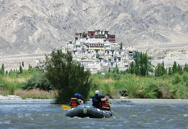 River-rafting in Zanskar